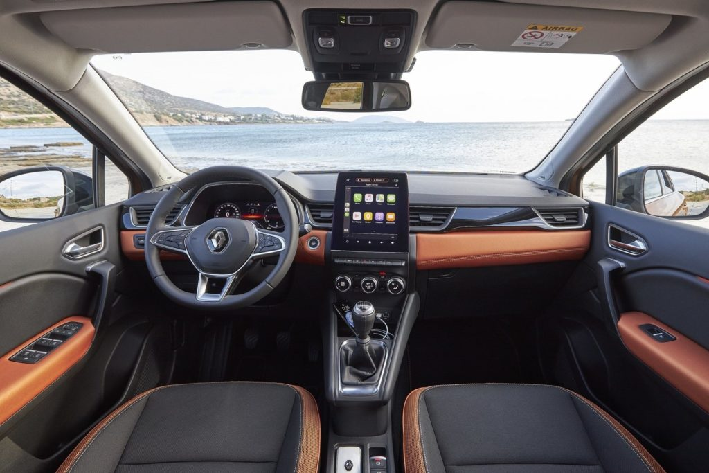 Interior Renault Captur 2020