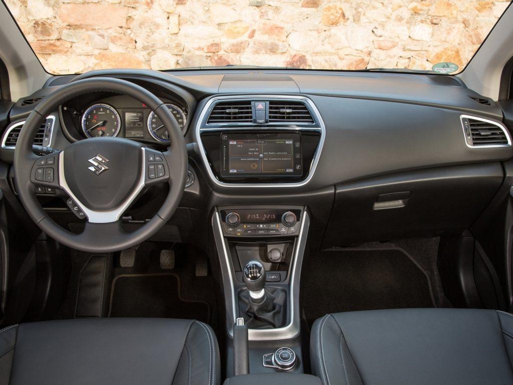 Interior Suzuki S-Cross 2017