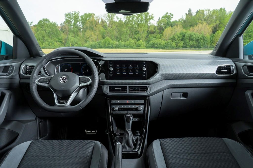 Interior Volkswagen T-Cross 2019