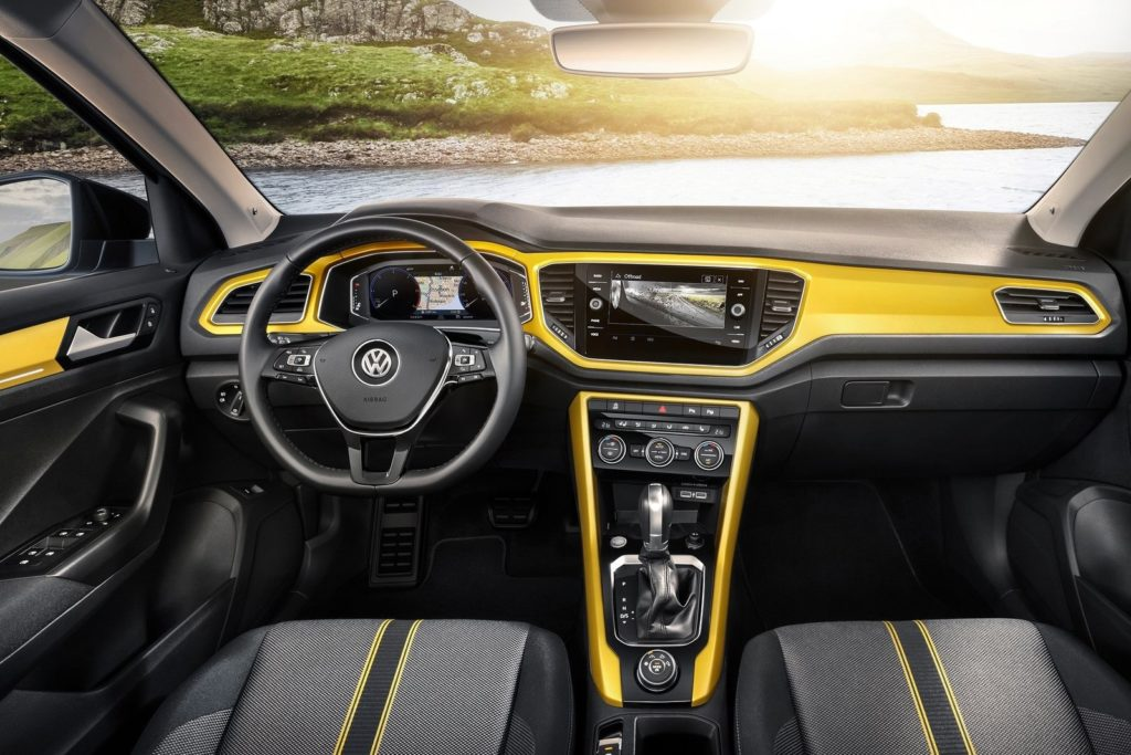 Interior Volkswagen T-Roc 2018