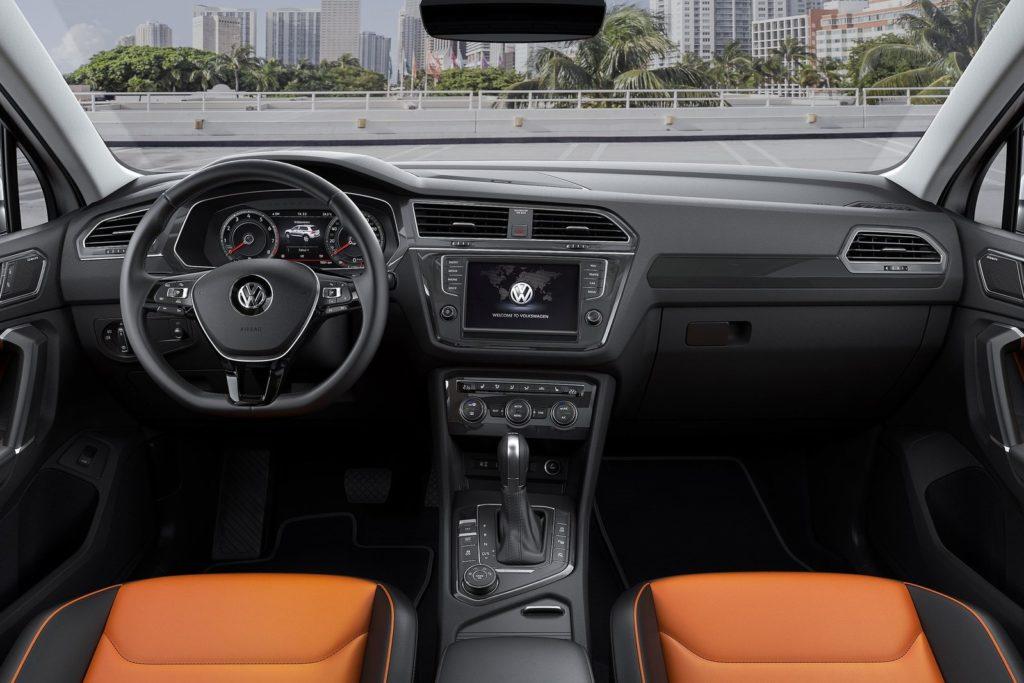 Interior Volkswagen Tiguan 2017