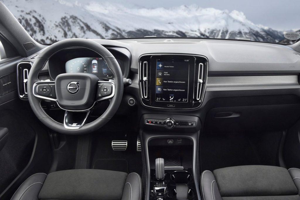Interior Volvo XC40 2018