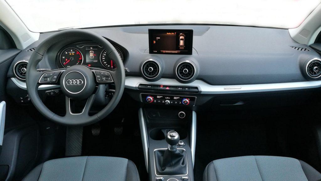 Interior del Audi Q2 2017