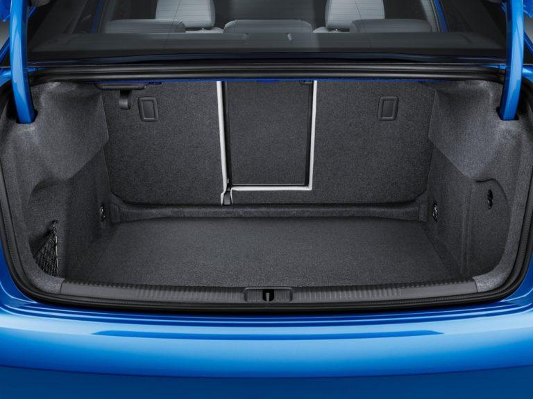 Maletero Audi A3 sedan 2017