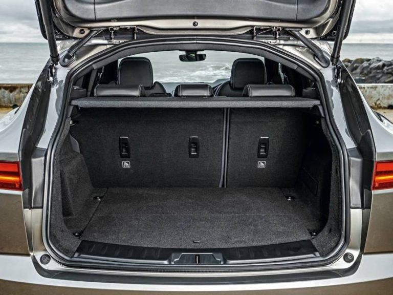 Maletero Jaguar E-Pace 2018