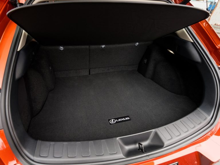 Maletero Lexus UX 2019