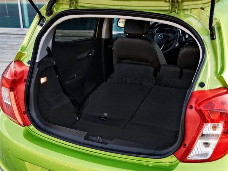 Maletero Opel Karl 2015