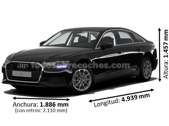 Medidas Audi A6 2020