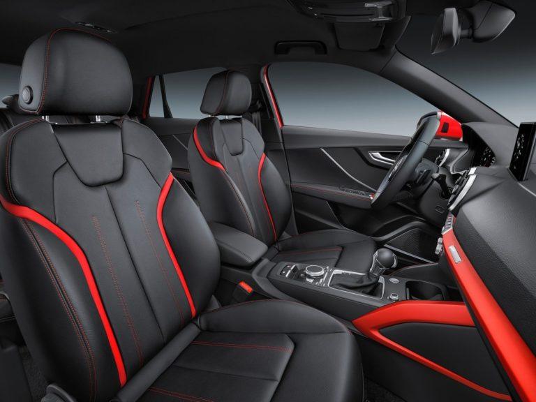 Plazas delanteras Audi Q2 2017