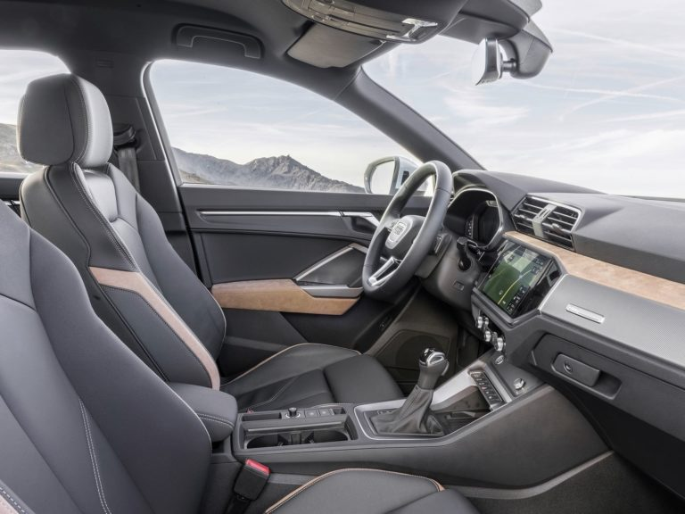 Plazas delanteras Audi Q3 2019