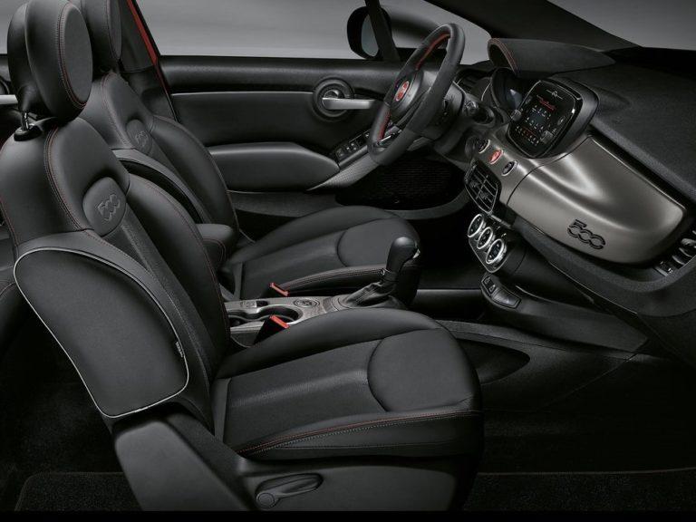 Plazas delanteras Fiat 500X 2019