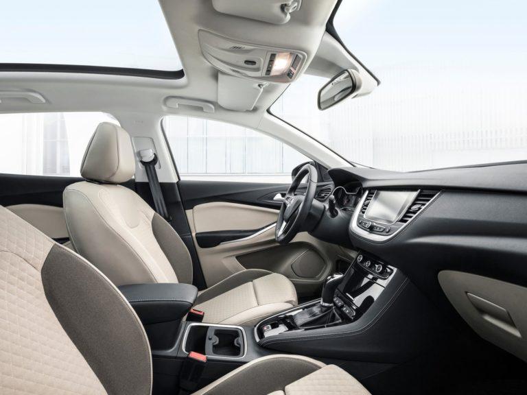 Plazas delanteras Opel Grandland X 2018
