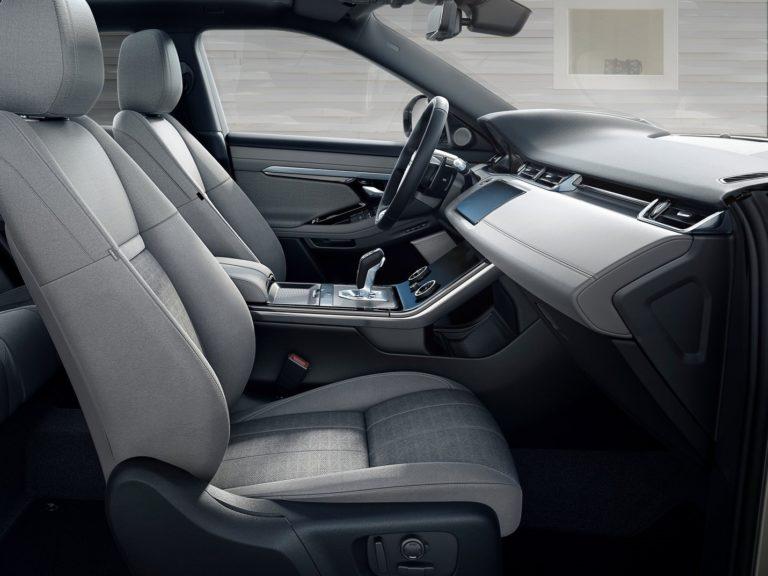 Plazas delanteras Range Rover Evoque 2020