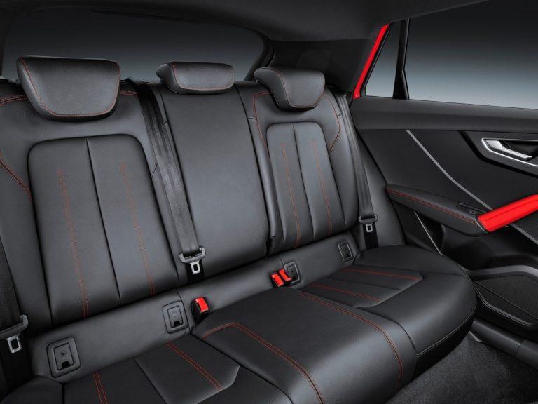 Plazas traseras Audi Q2 2017