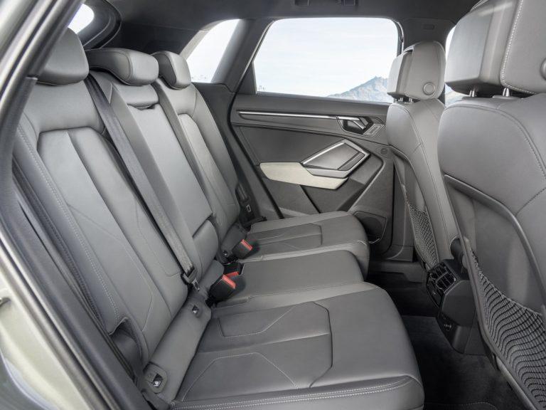 Plazas traseras Audi Q3 2019