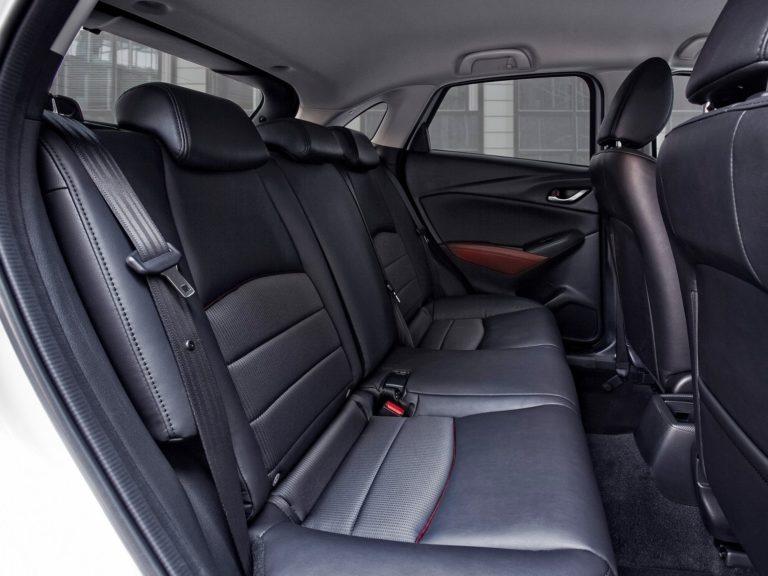 Plazas traseras Mazda CX-3 2016