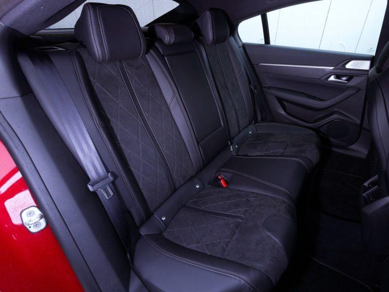 Plazas traseras Peugeot 508 2019