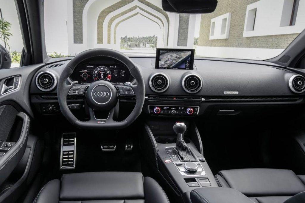 Interior Audi A3 sedan 2016
