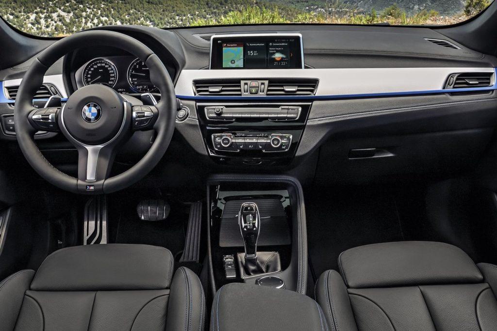Interior BMW X2 2019