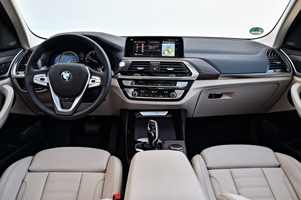 Interior BMW X3 2019