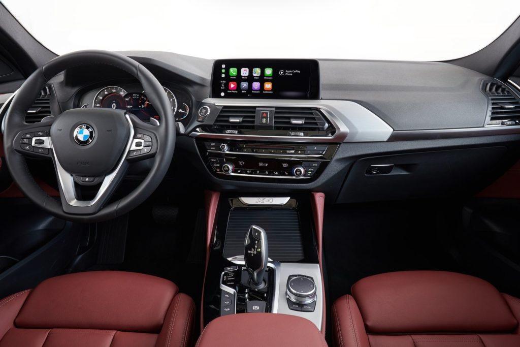 Interior BMW X4 2019