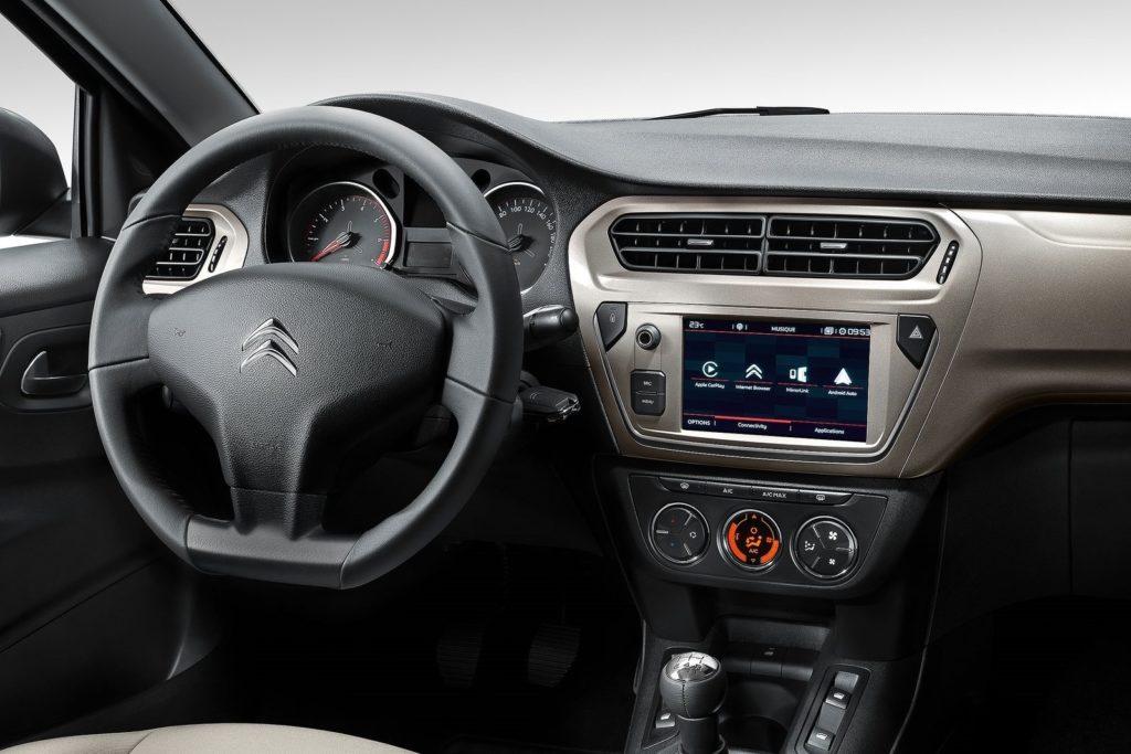 Interior Citroen C-Elysee 2017