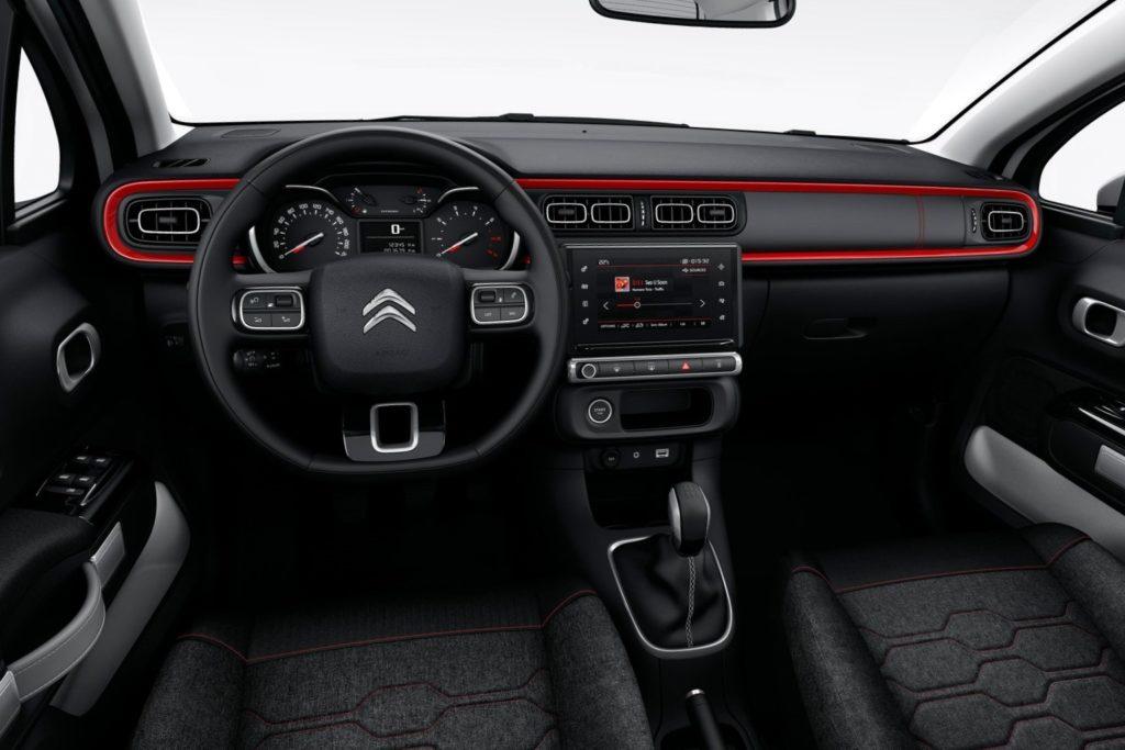 Interior Citroen C3 2016