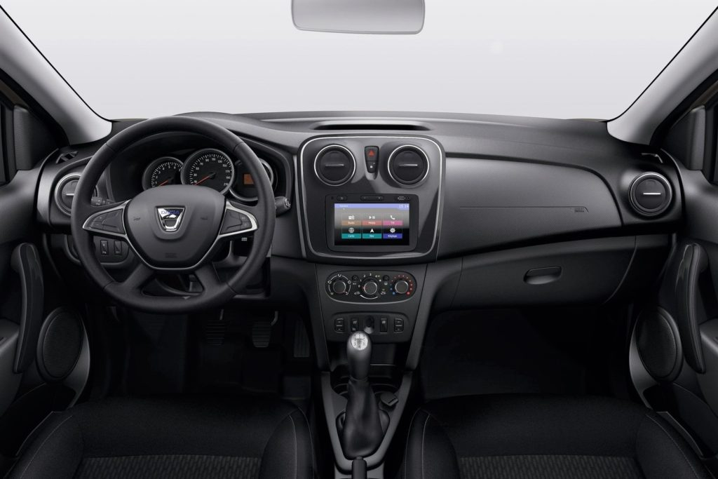 Interior Dacia Logan 2017