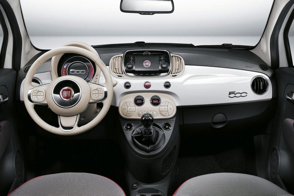 Interior Fiat 500 2016