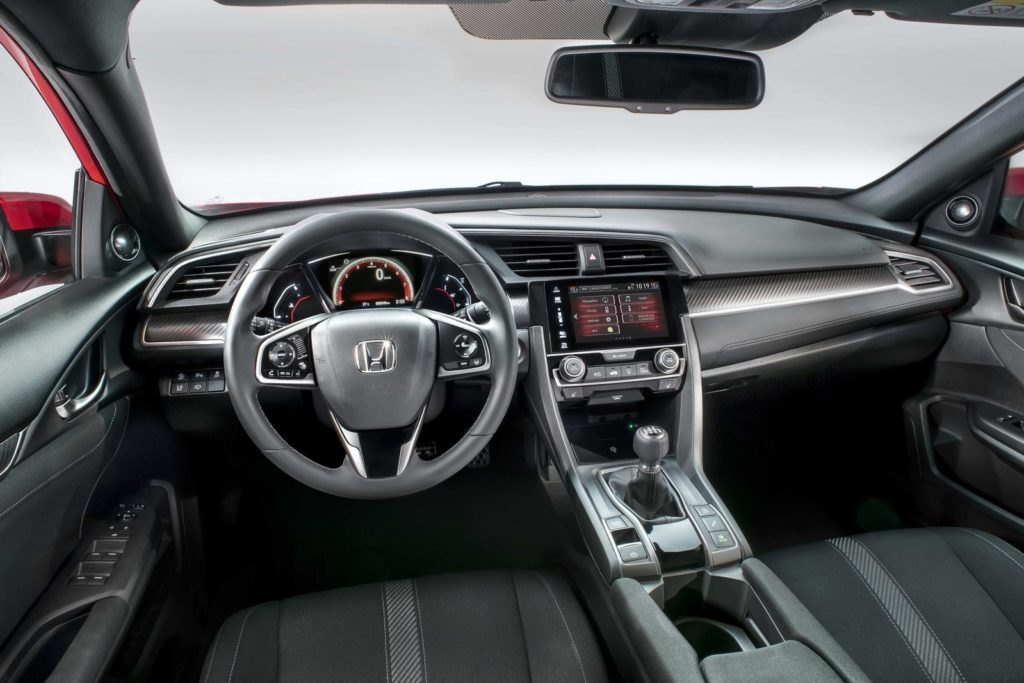 Interior Honda Civic 2017