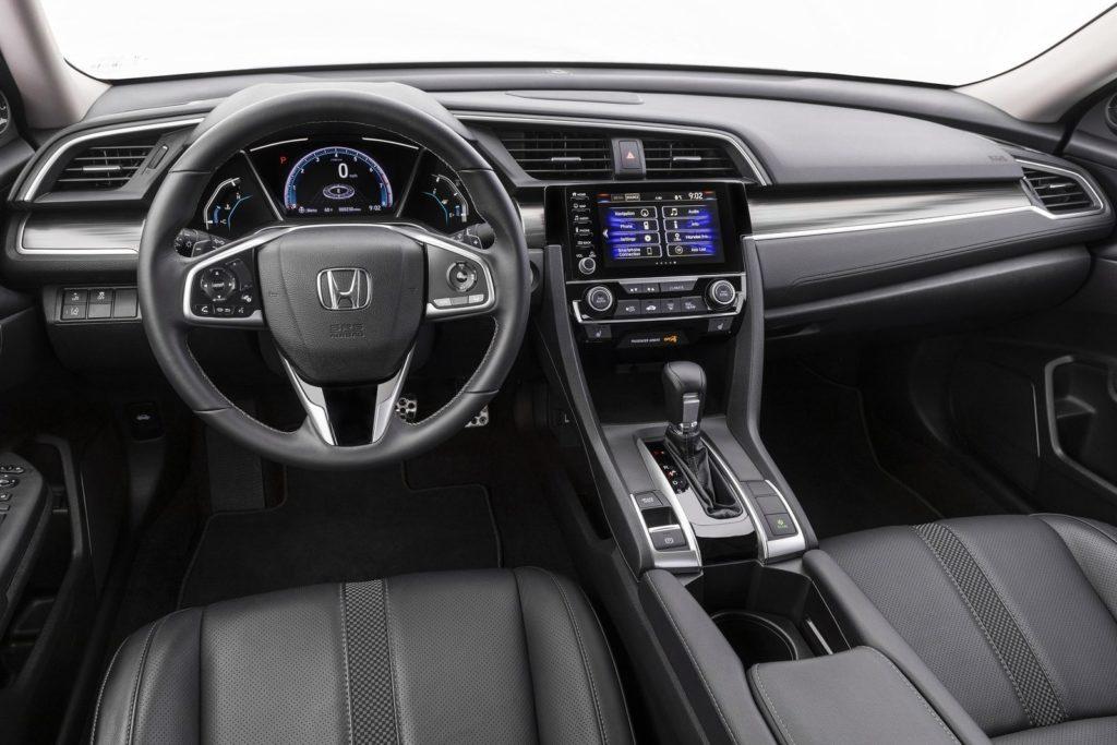 Interior Honda Civic sedan 2017