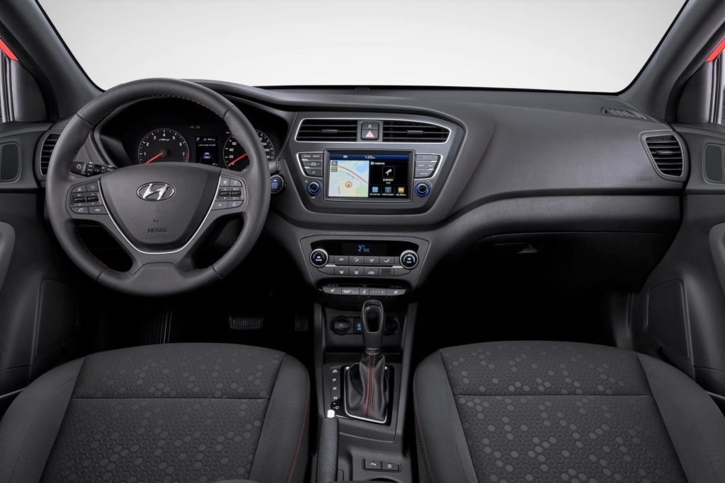 Interior Hyundai i20 2018
