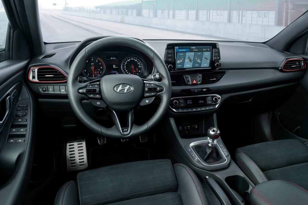 Interior Hyundai i30 2019