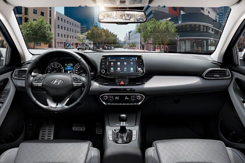 Interior Hyundai i30 CW 2019