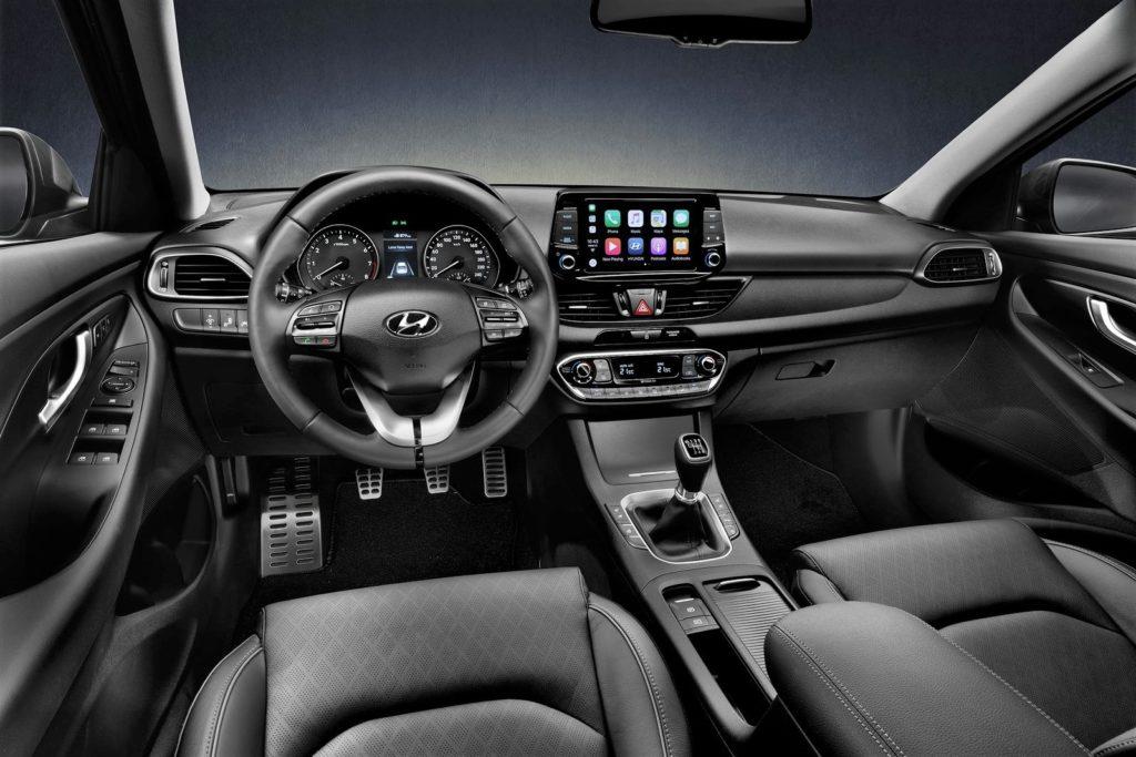 Interior Hyundai i30 Fastback 2018