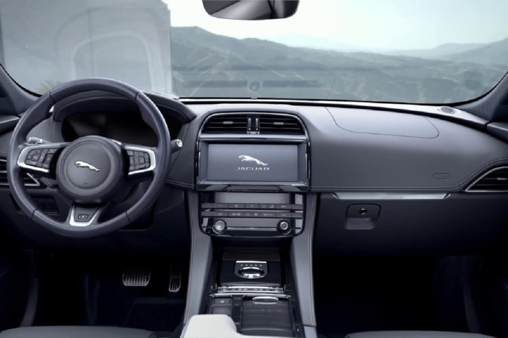 Interior Jaguar I-Pace 2019