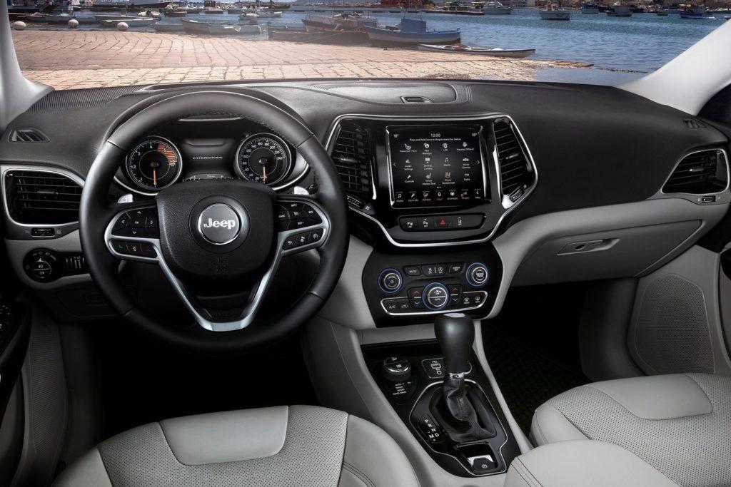 Interior Jeep Cherokee 2019