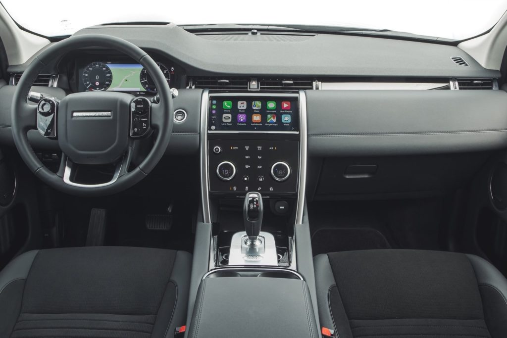 Interior Land Rover Discovery sport 2020