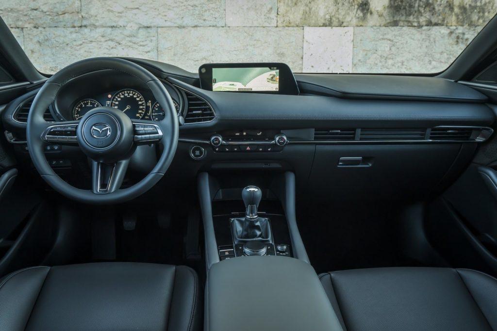 Interior Mazda 3 2019