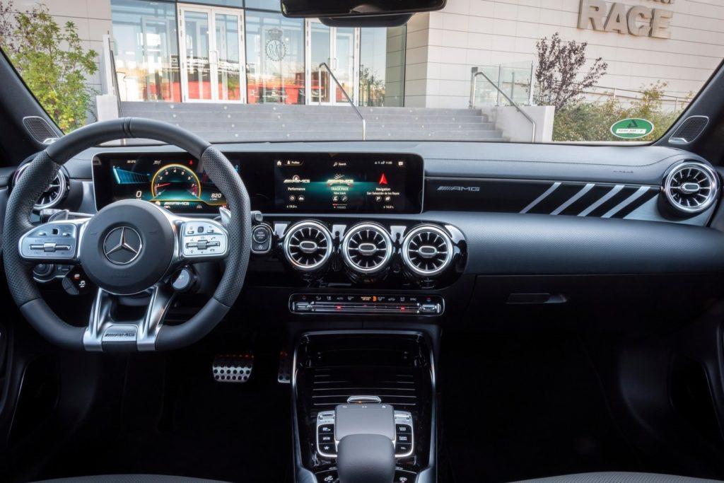 Interior Mercedes CLA 2019