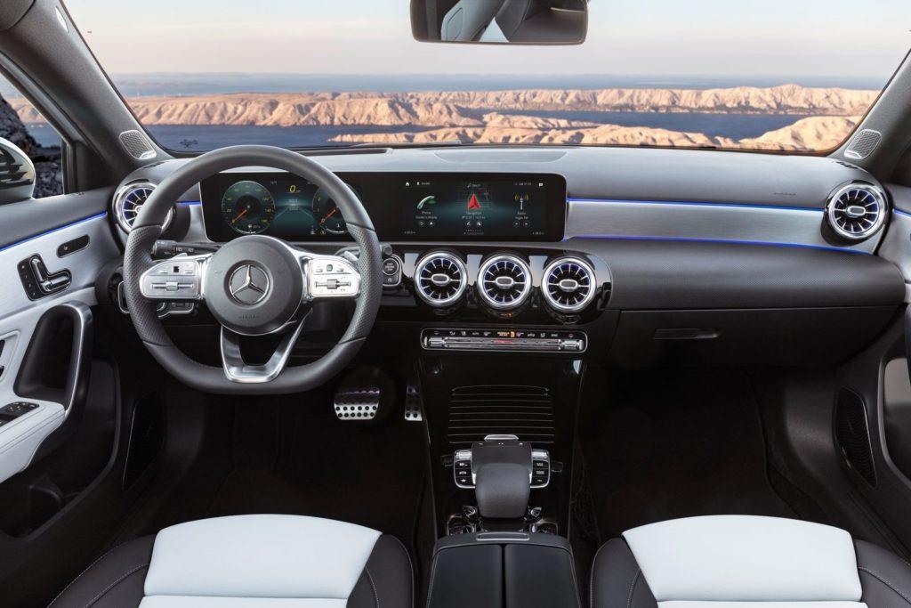Interior Mercedes Clase A 2018