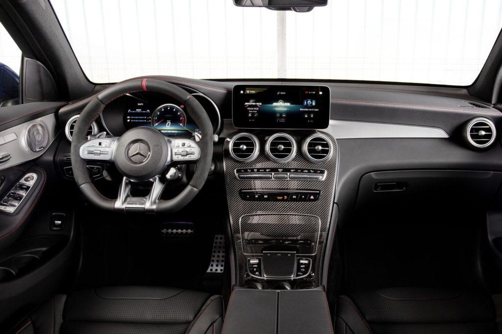 Interior Mercedes GLC 2020