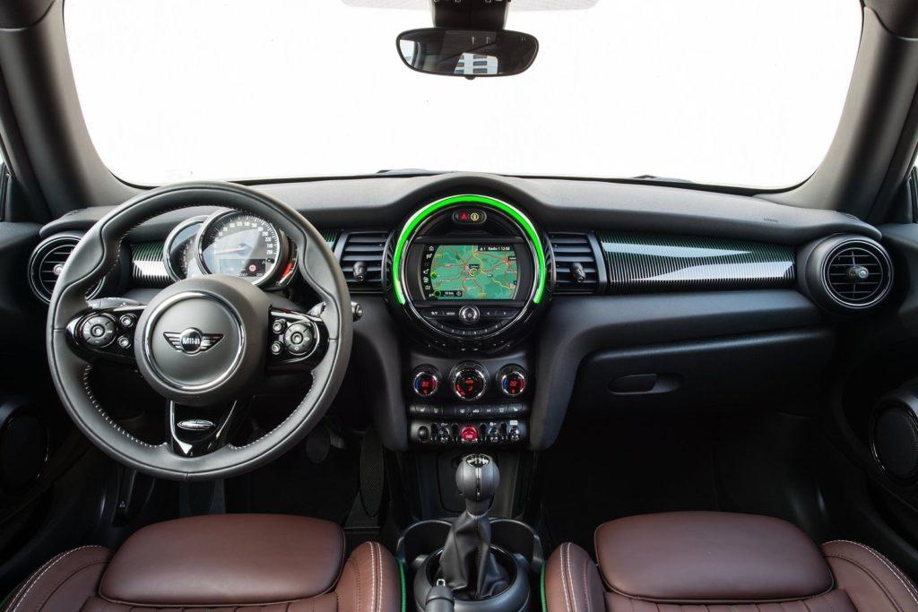 Interior Mini 3 puertas 2018