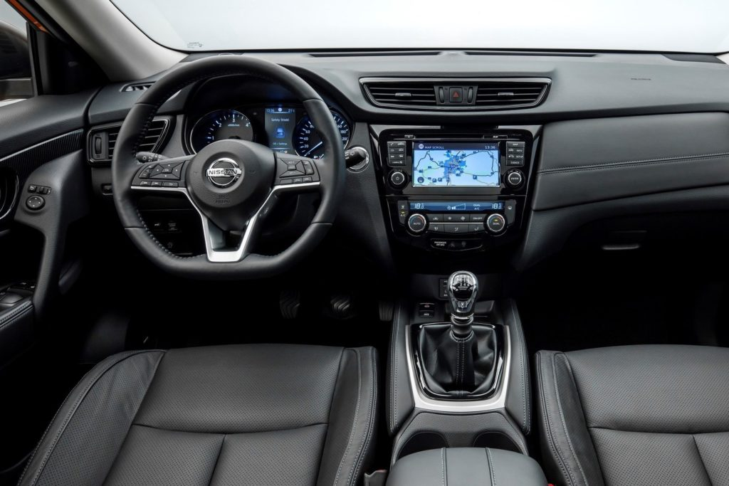 Interior Nissan X-Trail 2018