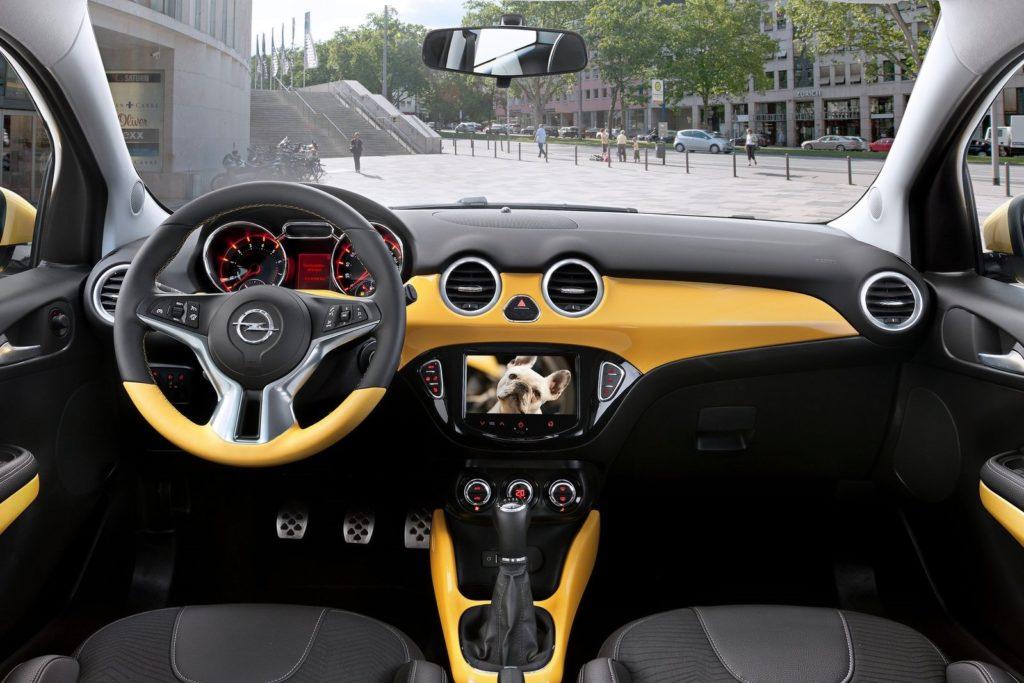 Interior Opel Adam 2013