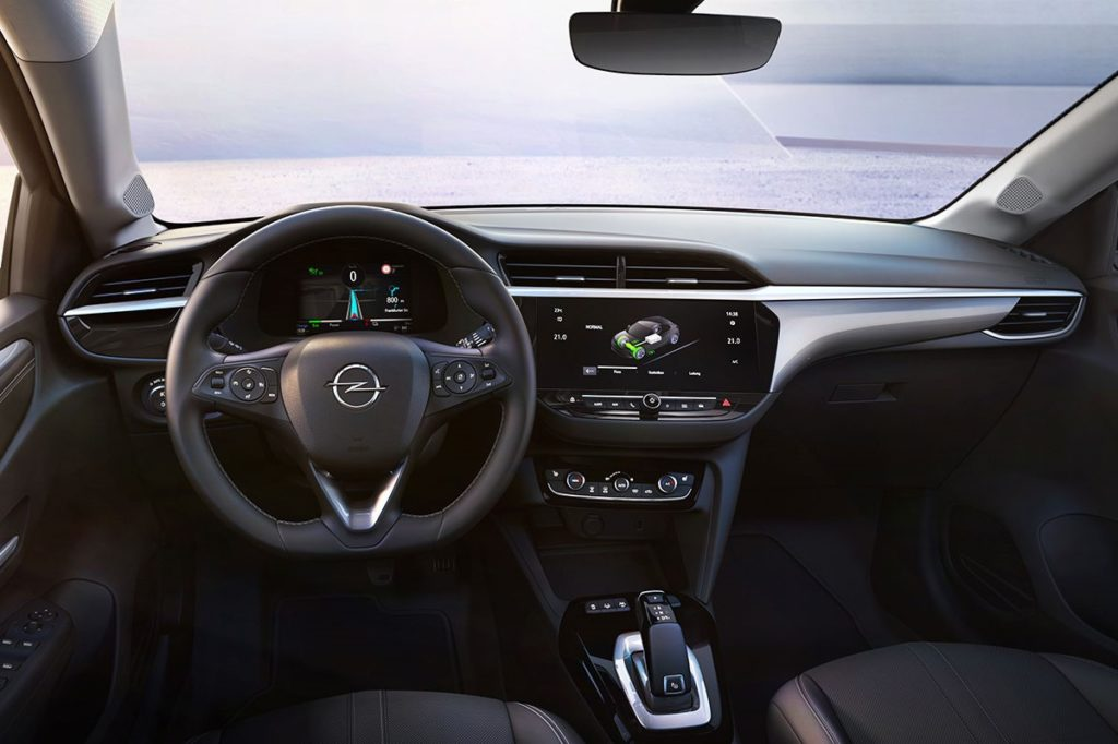 Interior Opel Corsa 2020
