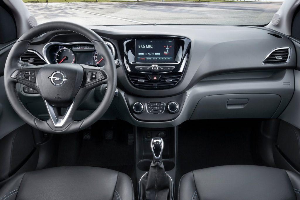 Interior Opel Karl 2015