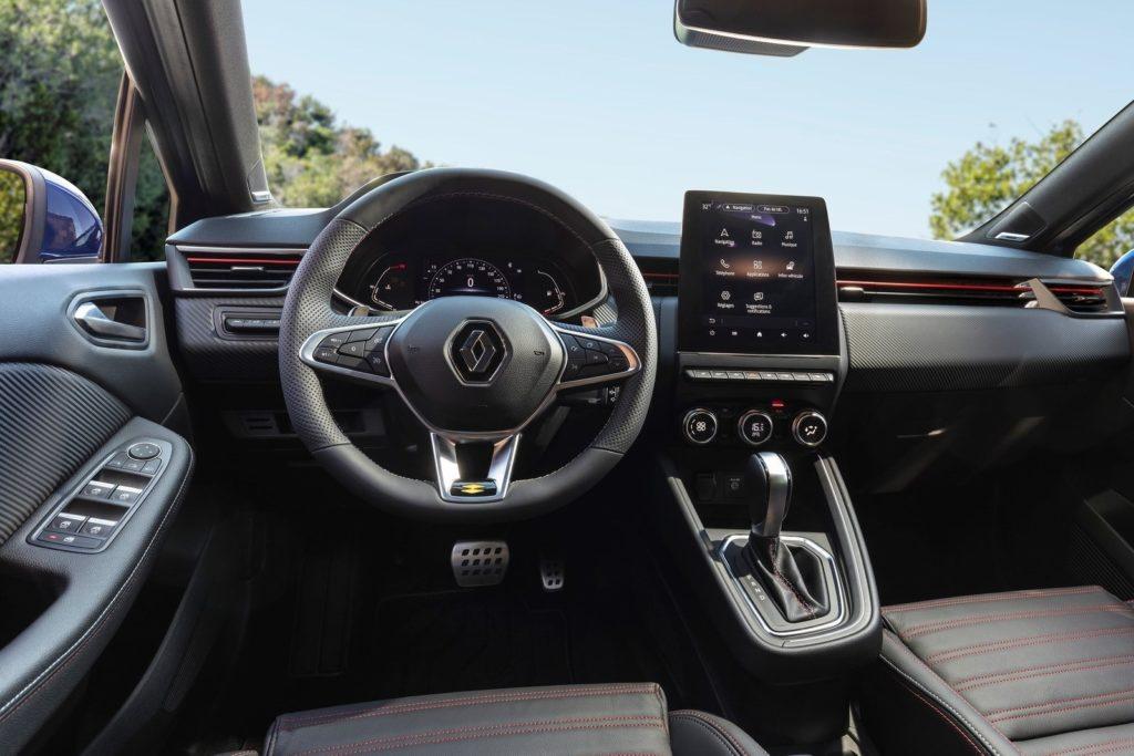 Interior Renault Clio 2019