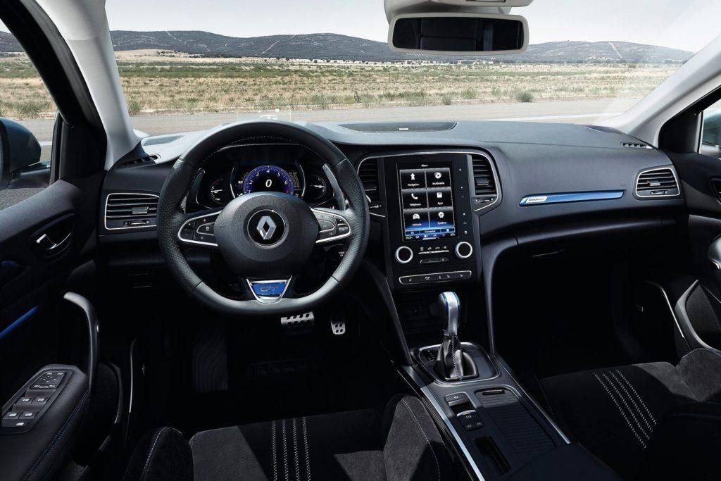Interior Renault Megane 2016