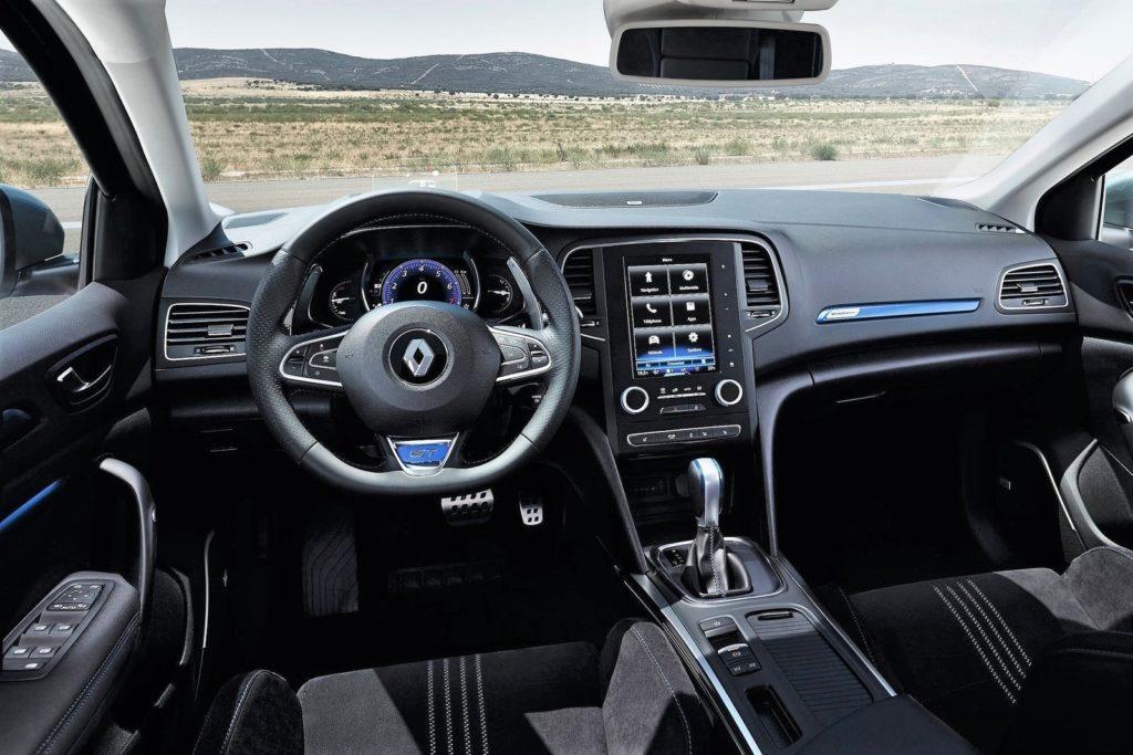 Interior Renault Megane Sport Tourer 2016